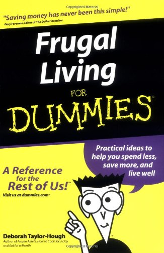 Frugal Living for Dummies 9780764554032