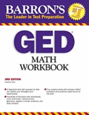 GED Math Workbook 9780764142062