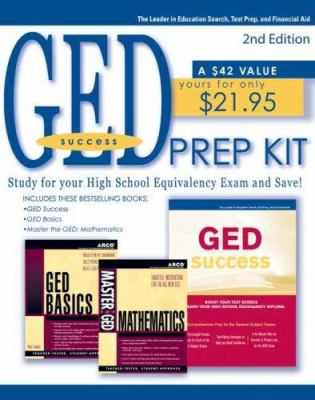 GED Prep Kit, 4th Ed 9780768922882