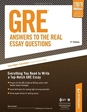 GRE Answers to the Real Essay Questions 9780768928211