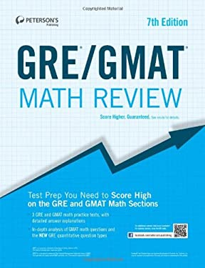 Peterson's GRE/GMAT Math Review 9780768934311