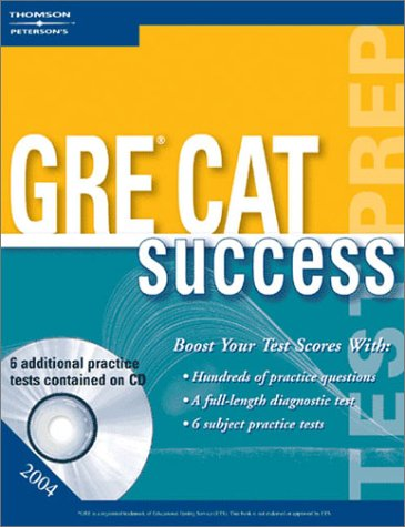 GRE Success 2004 [With CDROM] 9780768912302
