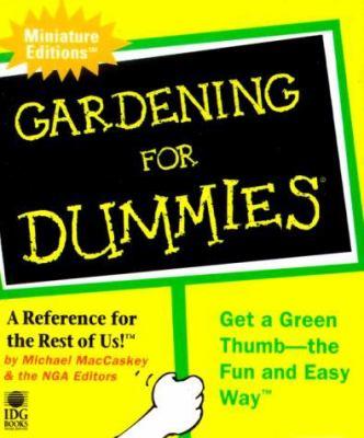 Gardening for Dummies 9780762406340