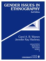 Gender Issues in Ethnography 9780761917175