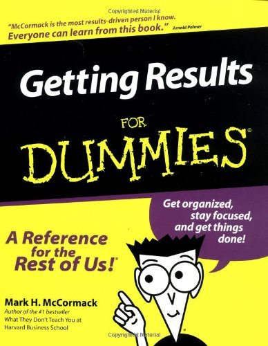 Getting Results for Dummies. 9780764552052