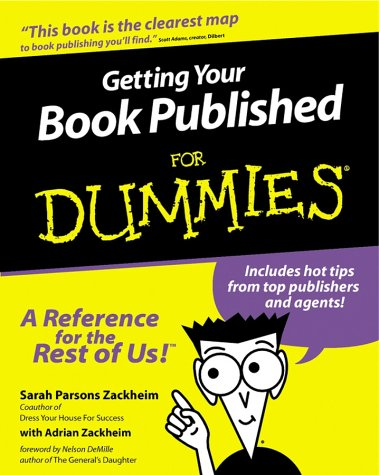 Getting Your Book Published for Dummies 9780764552571