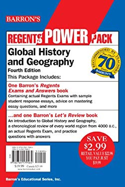 Global History and Geography Power Pack 9780764179464