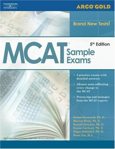 Gold MCAT Sample Exams, 5th Ed 9780768914788