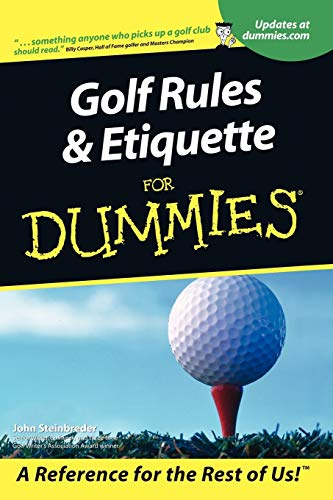 Golf Rules & Etiquette for Dum 9780764553332