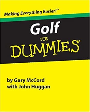 Golf for Dummies 9780762406333