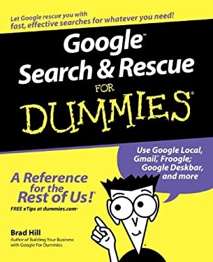 Google Search & Rescue for Dummies 9780764599309
