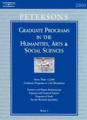 Grad Guides Book 2: Hum/Arts/Soc Sci 2005 9780768913927