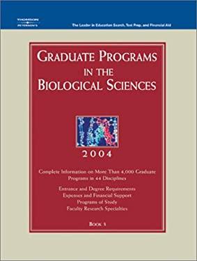 Grad Guides Book 3: Biological Scis 2004 9780768911435