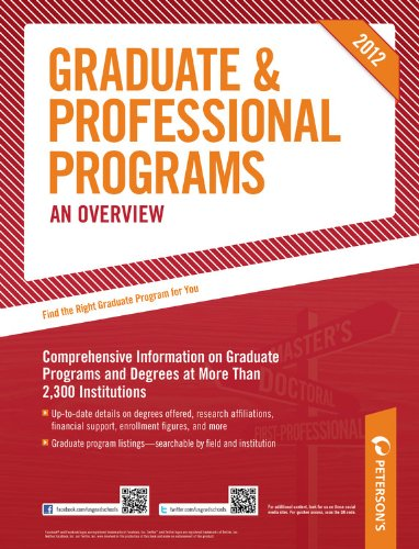 Graduate & Professional Programs: An Overview 9780768932805