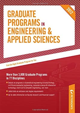 Graduate Programs in Engineering & Applied Sciences 9780768932843