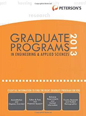 Graduate Programs in Engineering & Applied Sciences 2013