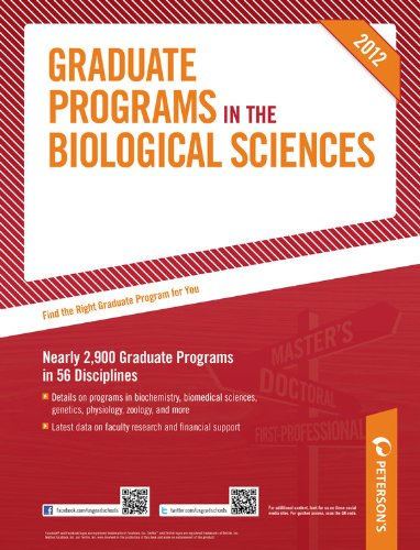 Graduate Programs in the Biological Sciences 9780768932829