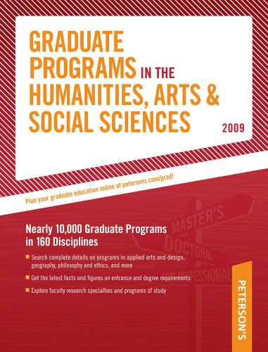Grad Guides Book 2: Humanities/Arts/Soc Scis 2009 9780768925661