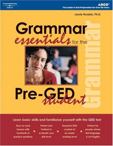 Grammar Essentials for Pre-GED Student 9780768912470