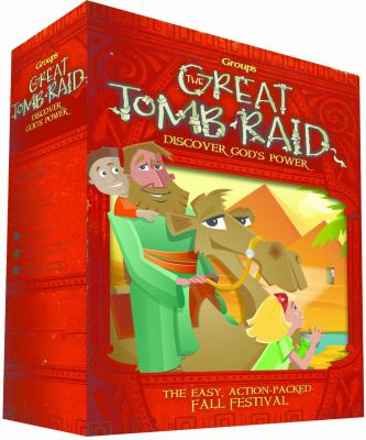 The Great Tomb Raid: Fall Fest: Discover Jesus' Power [With CDROM and Collector Cards and Finger Launcher and Glow Stick Necklace, Cardboard Foot, Pap 9780764443701