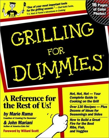 Grilling for Dummies. 9780764550768