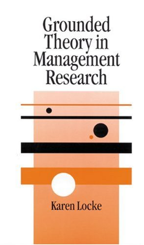 Grounded Theory in Management Research 9780761964278