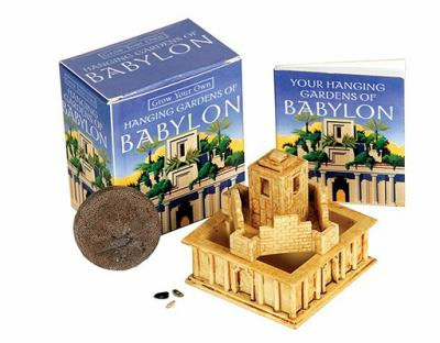 Grow Your Own Hanging Gardens of Babylon [With 32-Page Instruction Book and Seeds, Planter, Peat Pellet] 9780762432424