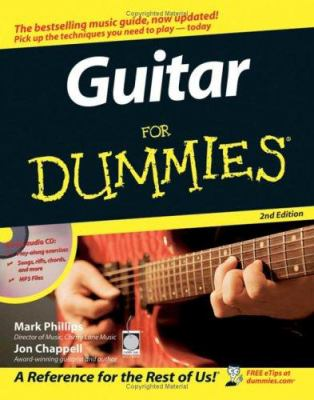 Guitar for Dummies [With CDROM] 9780764599040