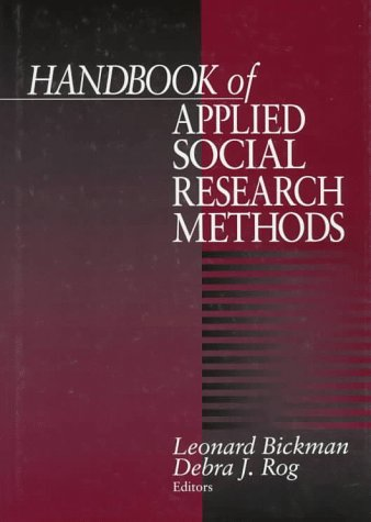 Handbook of Applied Social Research Methods 9780761906728