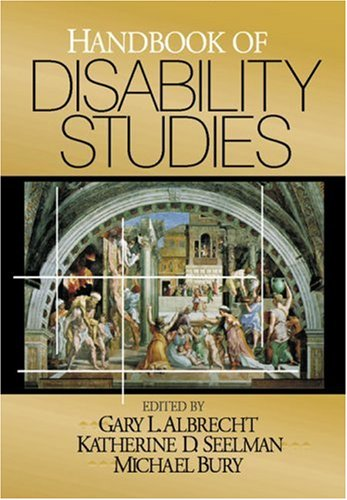 Handbook of Disability Studies 9780761916529
