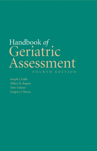 Handbook of Geriatric Assessment: 9780763730567