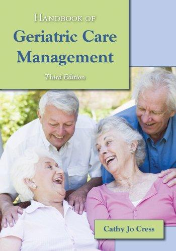 Handbook of Geriatric Care Management 9780763790264