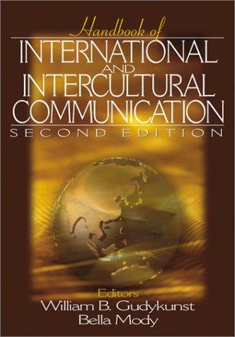 Handbook of International and Intercultural Communication 9780761920908