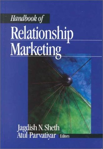 Handbook of Relationship Marketing 9780761918103