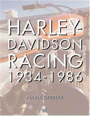 Harley-Davidson Racing 1934-1986 9780760312179