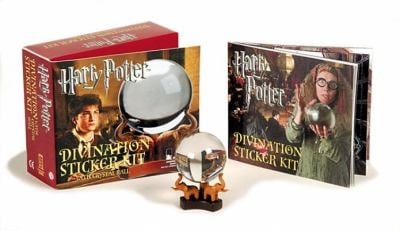 Harry Potter Divination Kit and Sticker Book [With Crystal Ball] 9780762430109