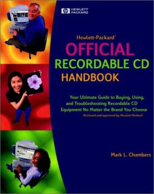 Hewlett-Packard Official Recordable CD Handbook [With CDROM] 9780764534744