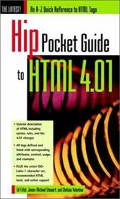 Hip Pocket Guide to HTML 4.01: An A-Z Quick Reference to HTML Tags 2946531
