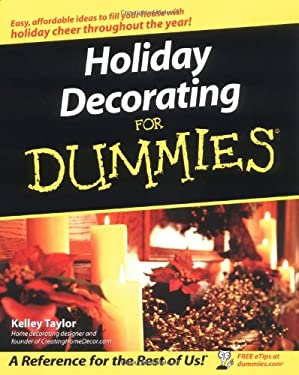 Holiday Decorating for Dummies 9780764525704