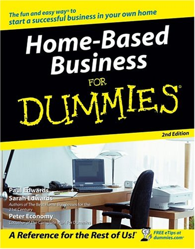 Home-Based Business for Dummies 9780764577635