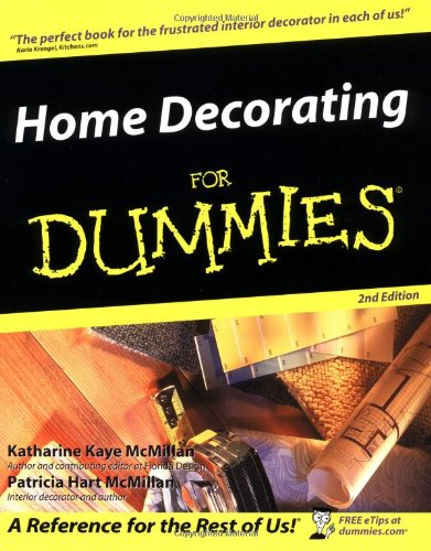 Home Decorating for Dummies 9780764541568