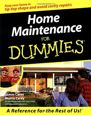Home Maintenance for Dummies. 9780764552151