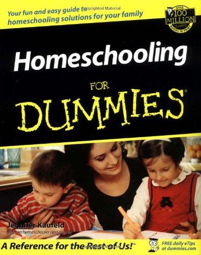 Homeschooling for Dummies 9780764508882