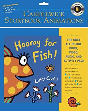 Hooray for Fish! [With Stickers and Interactive Poster and Hardcover Book] 9780763634414