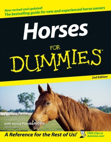 Horses For Dummies, 2nd Edition:Book.