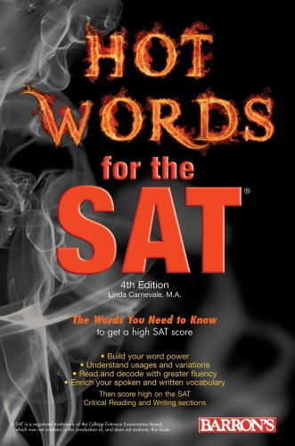 Hot Words for the SAT 9780764144790