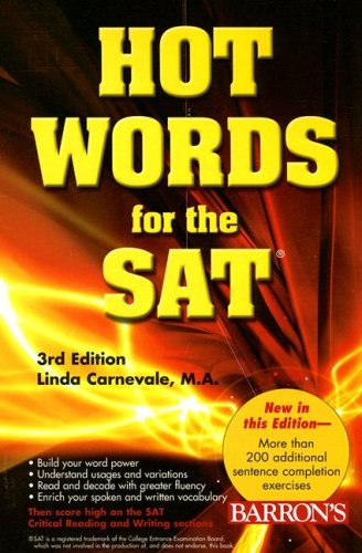 Hot Words for the SAT 9780764136320