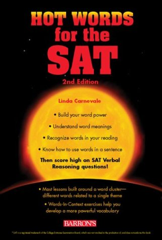 Hot Words for the SAT I 9780764123146
