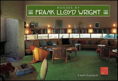 Houses by Frank Lloyd Wright: A Book of Postcards 9780764925689
