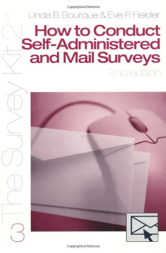 How to Conduct Self-Administered and Mail Surveys 9780761925620